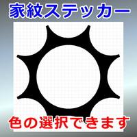 抜ケ九曜紋