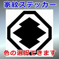 八角に松皮菱紋
