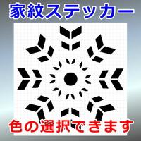 八本矢車紋