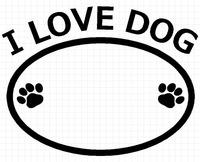 I LOVE DOG 01