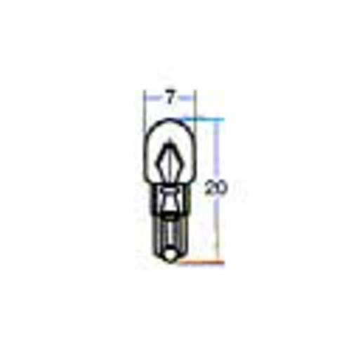 WB572 スタンレー電気 STANLEY 12V1.7W T5 W2×4.6d 電球 10個入り