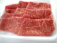 和牛ももしゃぶしゃぶ肉