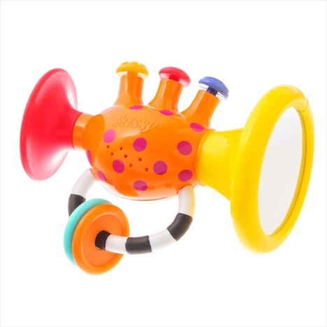 【SALE!】Sassyサッシー/知育玩具3点セットA(歯固め・ガラガラ・サウンドトイ)
