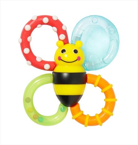 Sassyサッシー/知育玩具3点セットA(歯固め・ガラガラ・サウンドトイ)【送料無料】