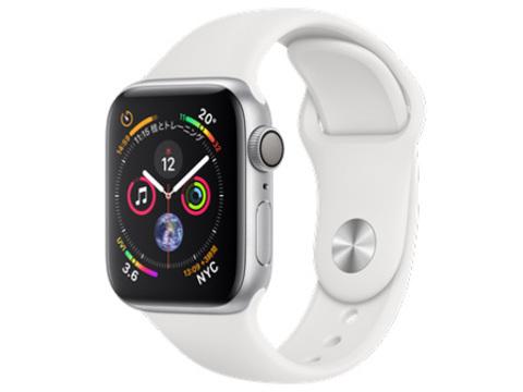 Apple Watch Series 4 GPSモデル 40mm MU642J/A [ホワイトスポーツバンド]