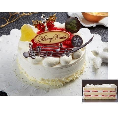 クリスマスケーキ<‐パルティシオン 楽譜- ガトー・オー・フレーズ> ※お渡し日 12月23日(木)~25日(土) ※ケーキのみの配達は行っておりません。
