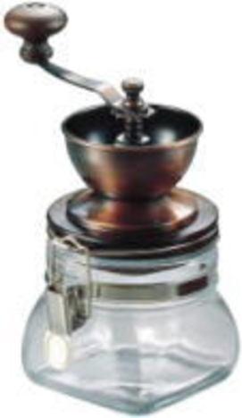 密封式 キャニスター コーヒーミル GCM-1