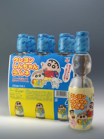 クレヨンしんちゃんペットラムネ6P (6本×5セット入り)*ケース販売