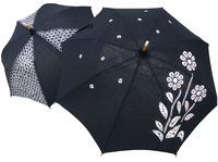 日傘【藍絞り柄】