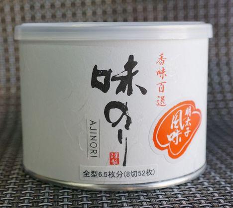 白缶入り 味海苔(明太子)
