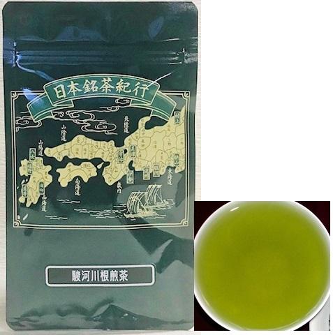 日本銘茶紀行ティーバッグ 駿河川根煎茶