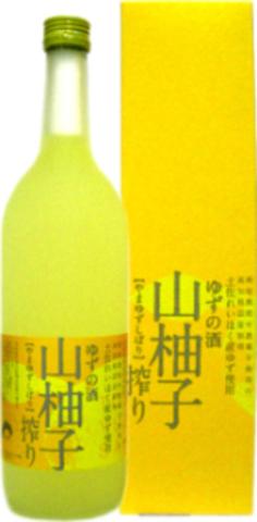 司牡丹『山柚子搾り』 720ml