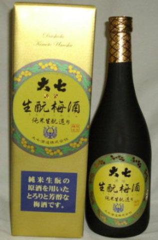 大七純米生もと梅酒 720ml