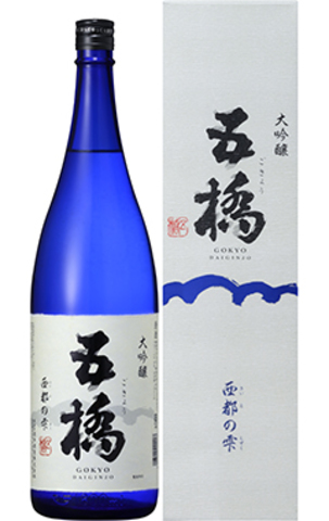 五橋大吟醸西都の雫入賞酒720ml