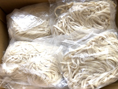 鶏そば用 平打ち細麺 10玉セット