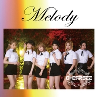 【CHERRSEE】1st Mini ALBUM『Melody』通常盤