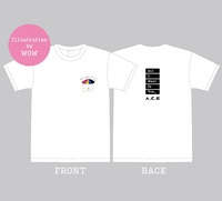 【A.C.E】【All I Want Is You】Tシャツ<Illustration by WOW>