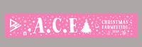 【A.C.E】【Christmas Fanmeeting2019】マフラータオル