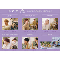 【A.C.E】MUSIC CARD 『My Lover』J-ROCK OFFICIAL SHOP限定 COMPLETE SET