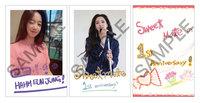 【EUN JUNG】日本デビュー1周年記念グッズ『ポストカード10枚セット』
