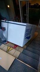 ダンボー 絨毯階段も電ネコ使用可能な『新素材養生材』