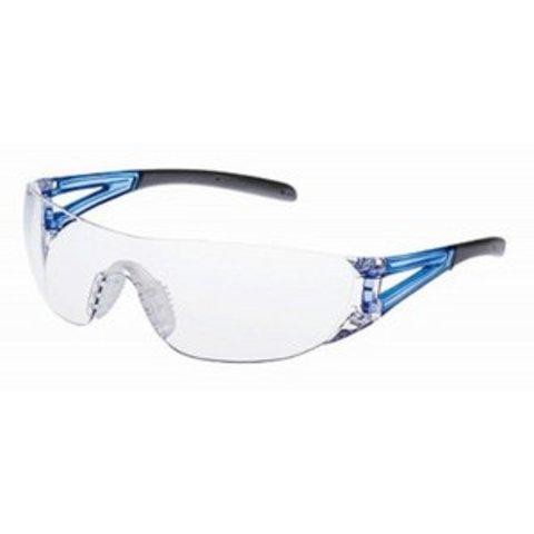 山本光学 保護めがね LF-201 JIS AF CLA/BLU UVカット・ソフトテンプル・ワイドビュー・ソフト鼻パッド付 JIS規格品