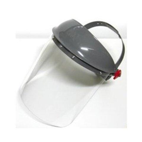 理研オプテック 防災面かぶり(作業帽)タイプ FS-500透明
