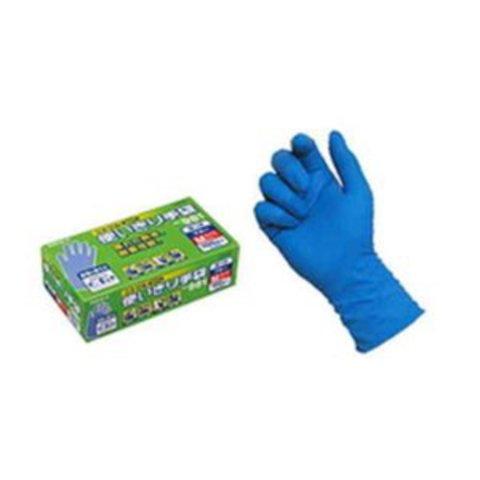 エステー使い切り手袋 Mサイズ ニトリル(極薄手)粉つき ブ