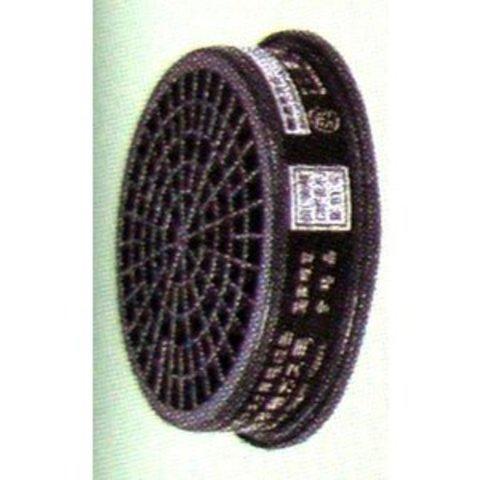シゲマツ 吸収缶 CA-108/OV (有機ガス用)