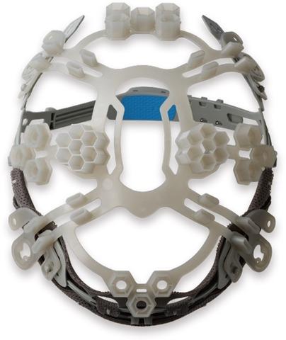 谷沢製作所 エアライトS ヘルメット ST#123-JZV(EPA)-B1V5 ブルー/グレー Evo.123