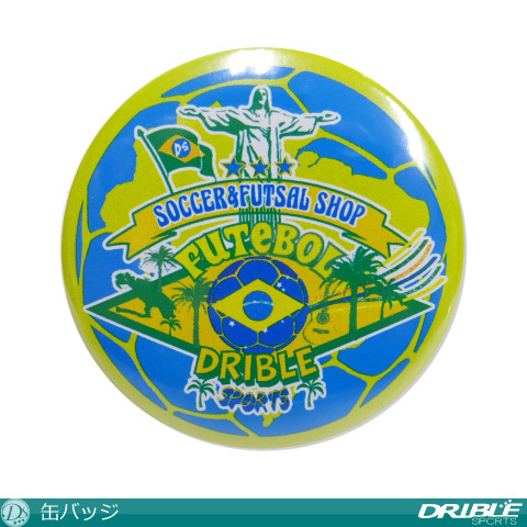 【350円Delivery対象】DRIBLE / 缶バッジ(Type2)