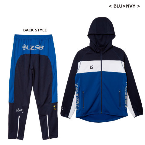 【18'継続商品】ルースイソンブラ/  STREAM LINE TRAINING JERSEY TOP BOTTOM SET