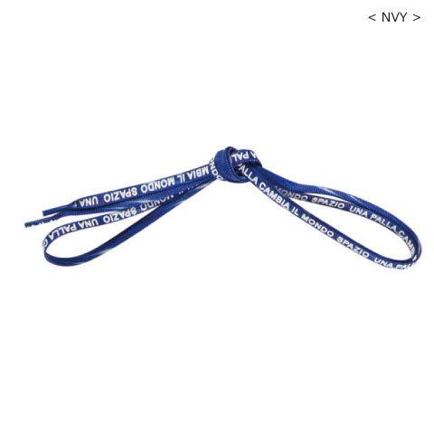 【350円Delivery対象】スパッツィオ/ Spazioロゴシューレース(0075)