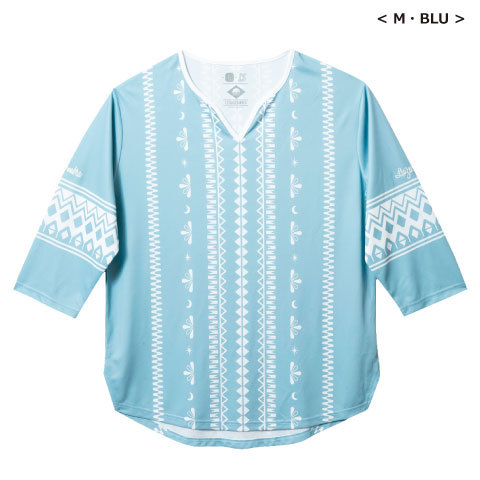 【SALE30%OFF】【350円Delivery対象】【2019春夏商品】ルースイソンブラ/TRIBAL ONE 7SLEEVE GAME-SHIRT