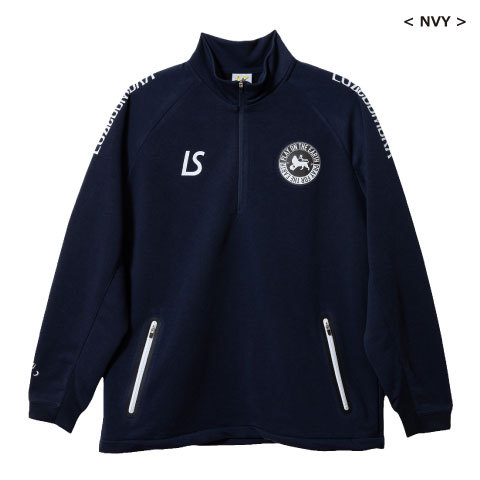 【SALE20%OFF】★送料無料★【2019秋冬商品】ルースイソンブラ/  P100  ACTIVE SWEAT CAM HALFZIP TOP