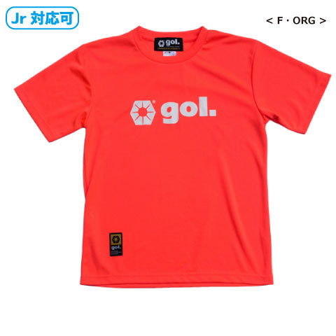 【TEAM ORDER対応】[gol./ゴル] ベーシックドライTシャツ