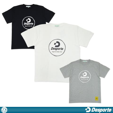 [Desporte/デスポルチ] ロゴTシャツ [DSP-T42]