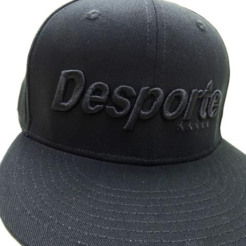 [Desporte/デスポルチ] フラットバイザーキャップ [DSP-PC03]
