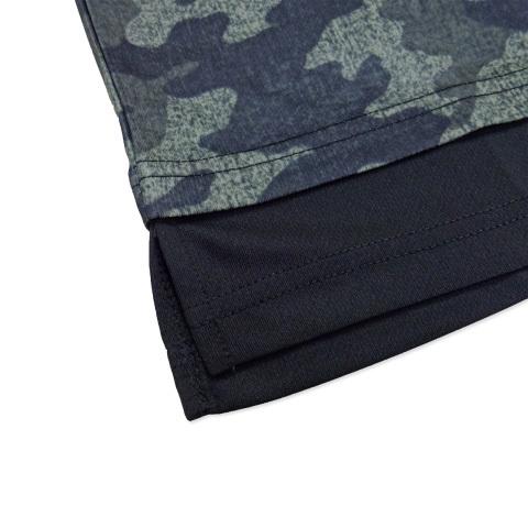 ゴレアドール/ 迷彩 レイヤード プラTシャツ [F-262]