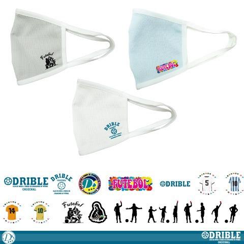 DRIBLE / 多機能マスク [接触冷感・吸汗速乾・吸放湿性 UVケア・防透け性]