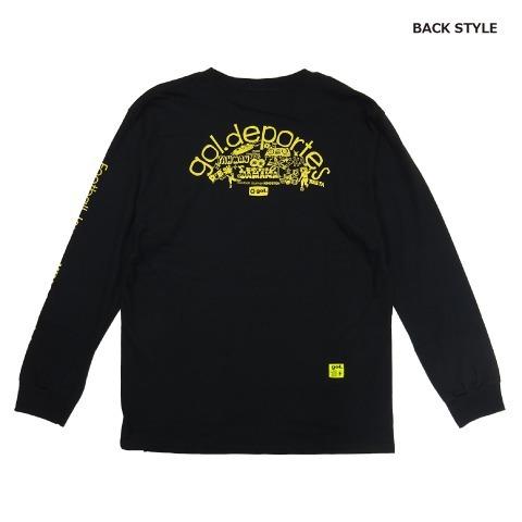 [gol./ゴル] 長袖Tシャツ<Journey> [G091-780]