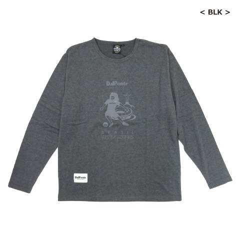[DALPONTE/ダウポンチ] ロングスリーブTシャツ [DPZ0300]