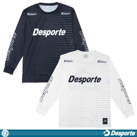 [Desporte/デスポルチ]  長袖プラクティスシャツ [BPS-22L]