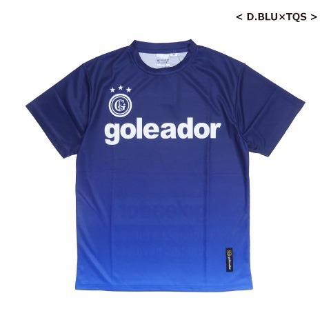 [goleador/ゴレアドール] 昇華グラデーションプリント BasicプラクティスTシャツ [G-440-1]