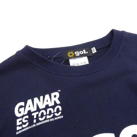[gol./ゴル] Jr.スウェットシャツ<LOGOS> [G093-772J]