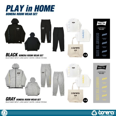 [bonera/ボネーラ]  2021 ROOM WEAR SET