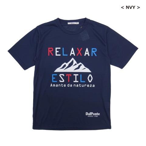[DALPONTE/ダウポンチ] コットンタッチドライTシャツ [DPZRX149]