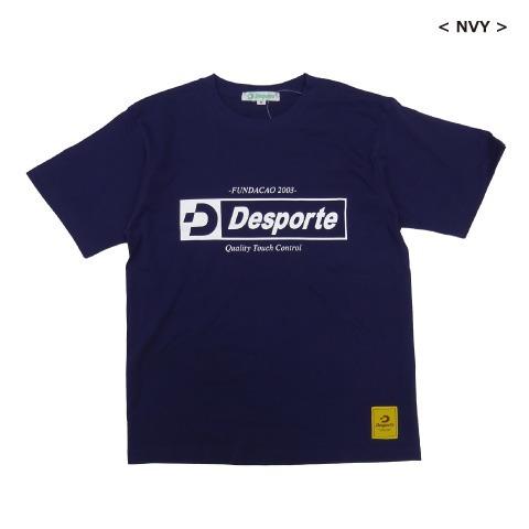 [Desporte/デスポルチ] ロゴTシャツ(コットン) [DSP-T44]