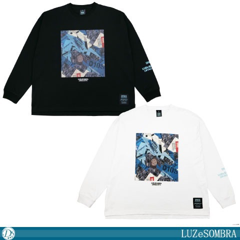 """[LUZeSOMBRA/ルースイソンブラ]  DR76""""Dios""""big silhouette long tee [O1212200]"""