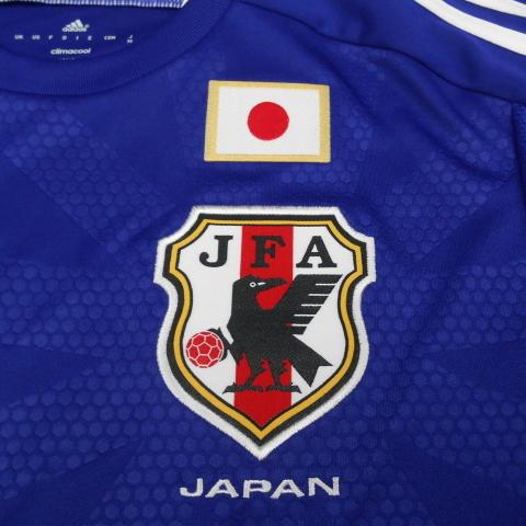 【70%OFF】【350円Delivery対象】アディダス/サッカー日本代表レプリカユニホーム
